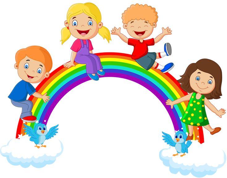 Картинки детский сад радуга