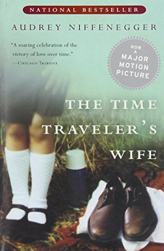 The Time Traveler's Wife by Audrey Niffenegger http://smile.amazon.com/dp/015602943X/ref=cm_sw_r_pi_dp_jFggwb0QXR9Q8