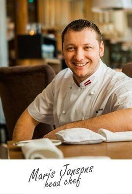 Maris Jansons / head chef / Restaurans BIBLIOTĒKA N°1 Restorāns / delicious food