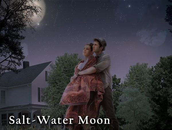 Image from Globe Theatre's poster for Salt-Water Moon.