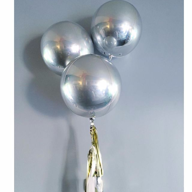 17 Best Images About Metallic Orbz Balloons On Pinterest
