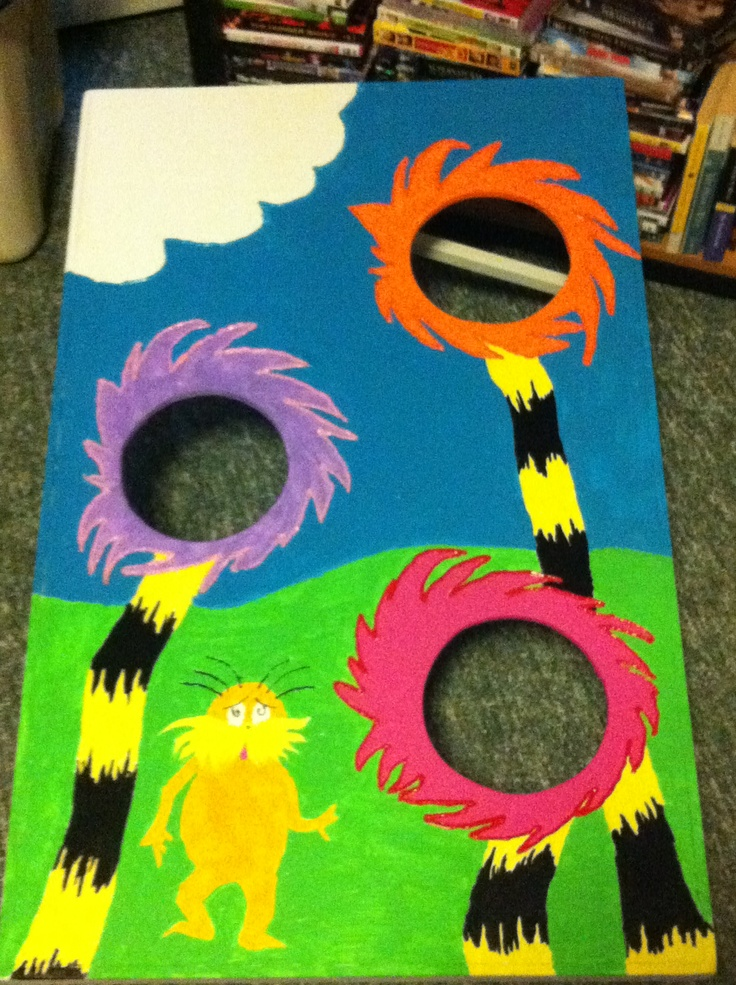 Dr Seuss Bean Bag Toss Dr Seuss And More Pinterest