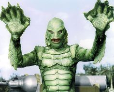 I believe the CREATURE FROM THE BLACK LAGOON was a Bud Westmore creation but I remember reading somewhere that the Creature Body itself was designed by a female artist that wasn't recognized in the films credits... so as far as I'm concerned it was JOINT EFFORT. Released in 1954 in 3D it exploded in the Box Office ! This was the LAST of the Universal Monsters. Actor Ben Chapman was the Gill Man above ground and professional swimmer Ricou Browning portrayed the Creature in the underwater…