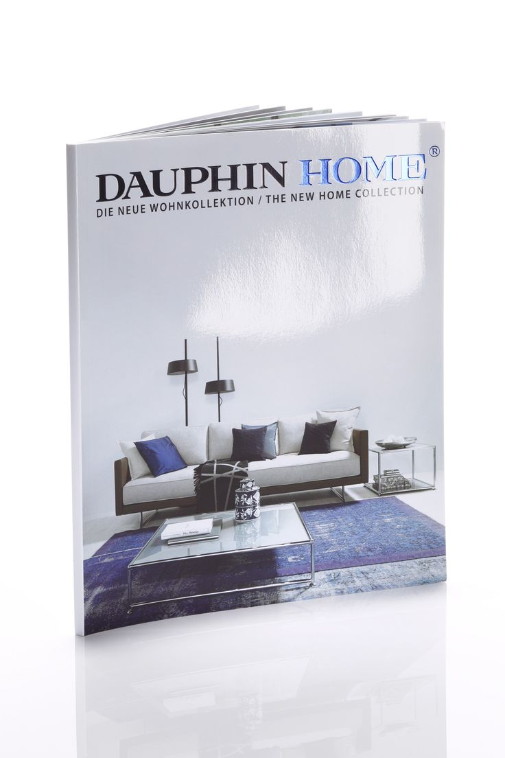 DAUPHIN HOME // THE NEW HOME COLLECTION – printed on heaven 42, 170 + 250 gsm: http://www.scheufelen.com/en/projects/dauphin-home-die-neue-wohnkollektion.html