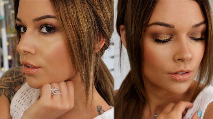 ↡ Où retrouver les produits ↡ YEUX : Palette Zoeva - Cocoa Blend : http://bit.ly/2dt8PyO Faux cils - Ardell : http://bit.ly/2ddmfBr Mascara Noir Couture Volu...