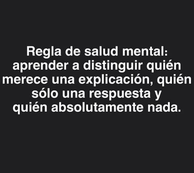 〽️ Regla de salud mental