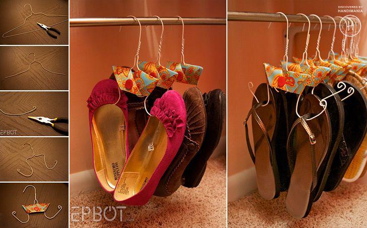 Flop Hanger http://www.handimania.com/diy/flop-hanger.html