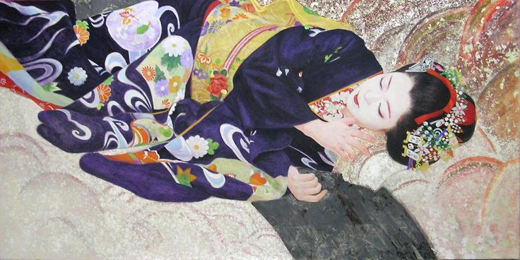 日本画 Japanese painting : 黒川雅子のデッサン  BLOG版