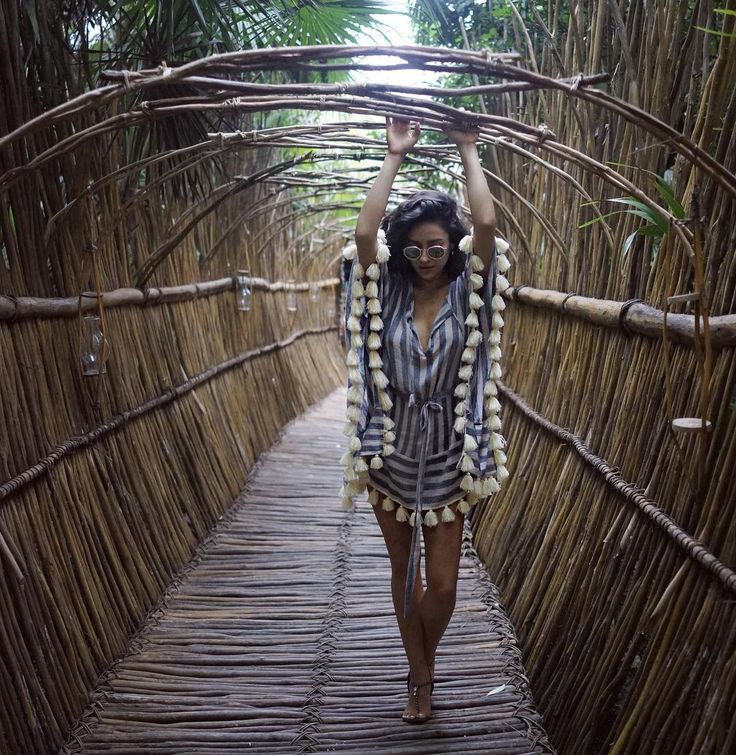 """ shaym: Eco monkey bars in Tulum…very hard after 2 margaritas  """