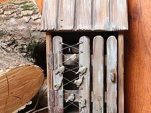 Делаем старую-престарую ключницу «Дом» | Ярмарка Мастеров - ручная работа, handmade