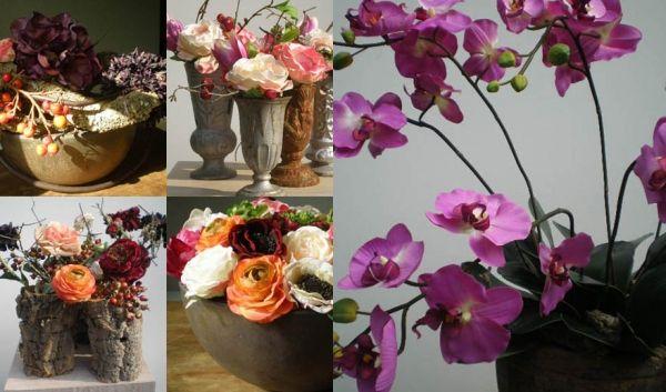 Bloemen Van Gurp is gespecialiseerd in een prachtig zijde bloemen-arrangement.