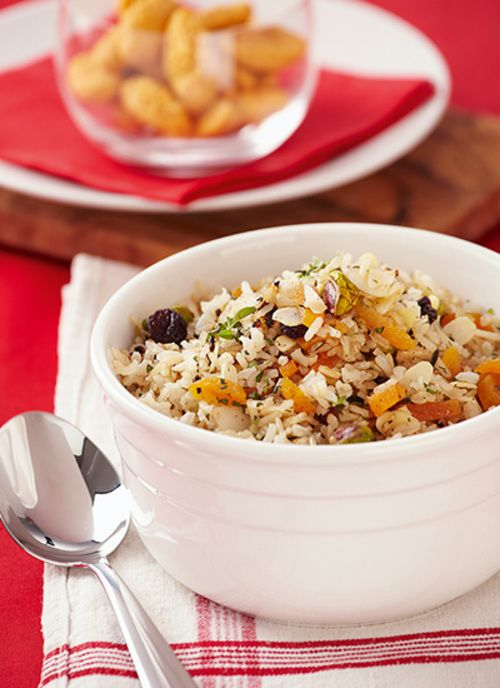 Receta: Arroz integral con frutos secos