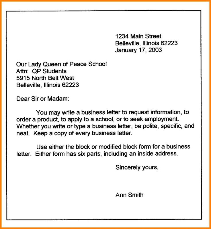 7 best Business letters images on Pinterest 1st year, A business - how to format a business report