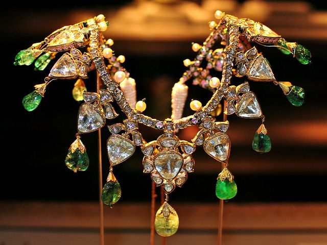 Necklace (19th Century, India, Benares) Explore Nov 17, 2011. by Sarfraz Abbasi, via Flickr