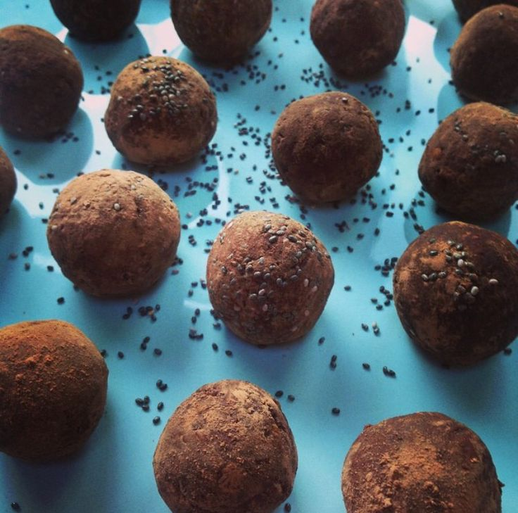 protein ball truffles