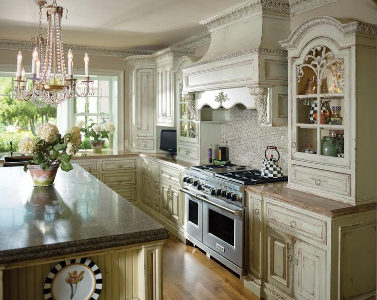 66 best french country kitchens images on pinterest dream kitchens french country kitchens for French kitchen design