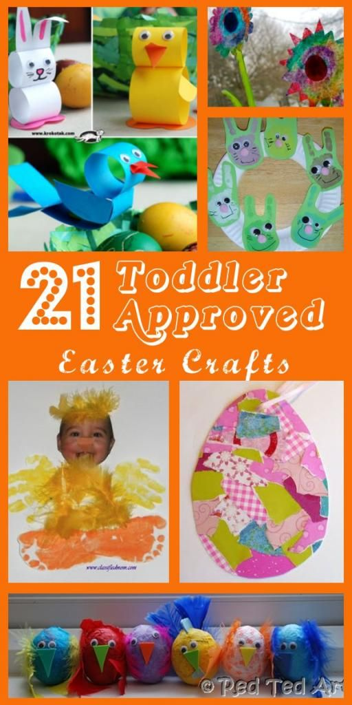 I get so many e-mails from Moms asking what kinds of craft activities they can do with toddlers. While there are TONS of ideas online, I ha...