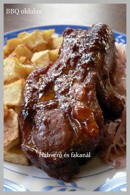 Habverő és fakanál: BBQ oldalas