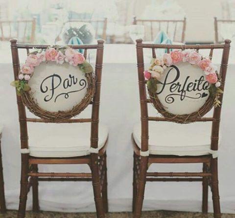 Kit par perfeito! #plaquinhas #casamento #naranoivas #apaixonada #noivas #noivos