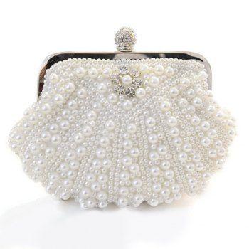 Preciosas perlas de imitación y cadena de Diseño bolso de noche de las mujeres para Vender - La Tienda En Online IGOGO.ES