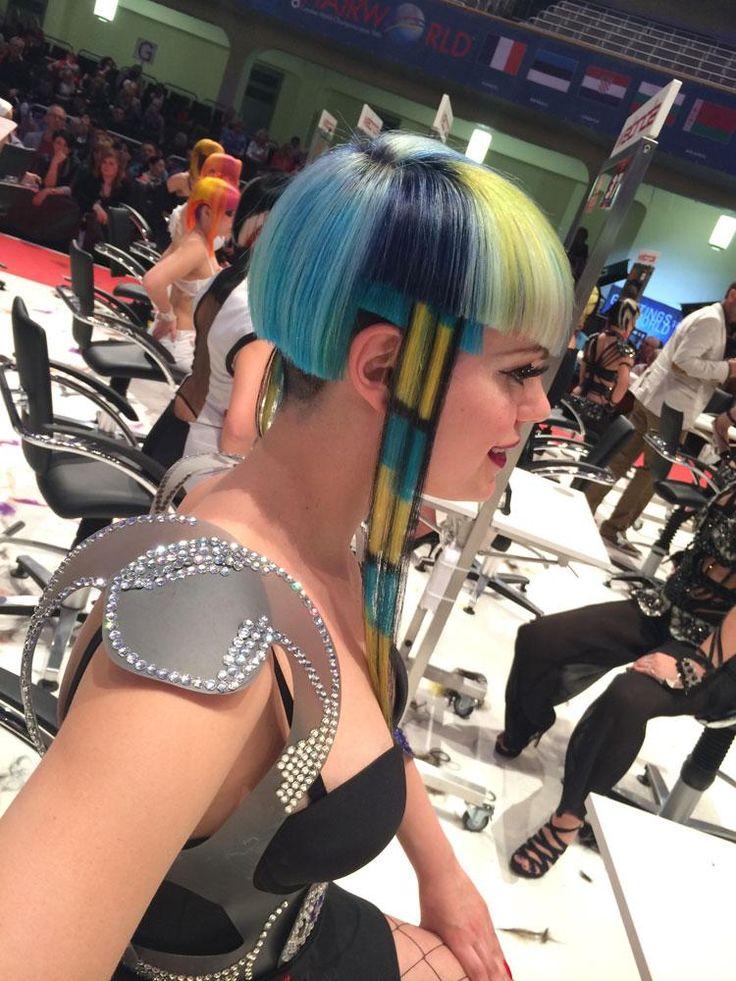Image Gallery: 2014 Hairworld OMC World Cup in Frankfurt, Germany | Modern Salon. Avant Garde Hair: Cut Color