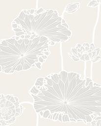 Tapetorama - Tapet 44120: Water Lilly 01 från Cole & Son