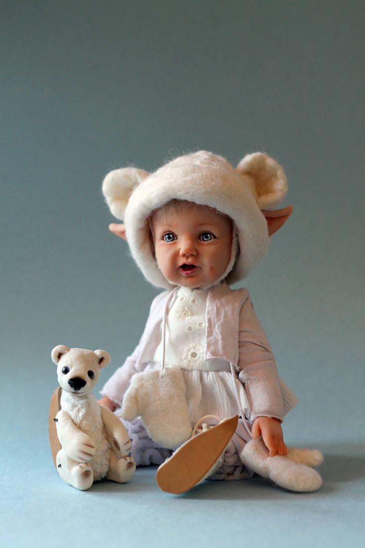 Эльфик белых медвежат olga_kizhaeva