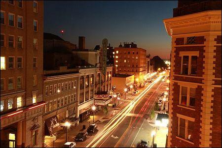 downtown Huntington WV