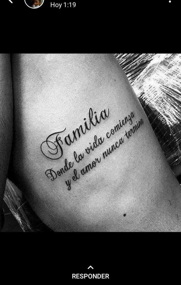 Pin De Mavis Luisa En Love Tatuajes De Familia Tatuajes De Familia Para Hombres Frases Para Tatuajes Hombres