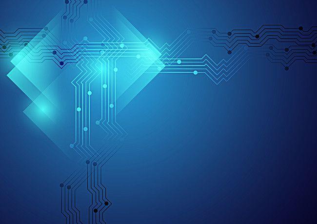 التكنولوجيا الرقمية خلفية خيال علمي Star Designs Design Neon Signs