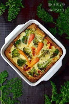 dietetyczna tarta pełnoziarnista z brokułami i serem feta