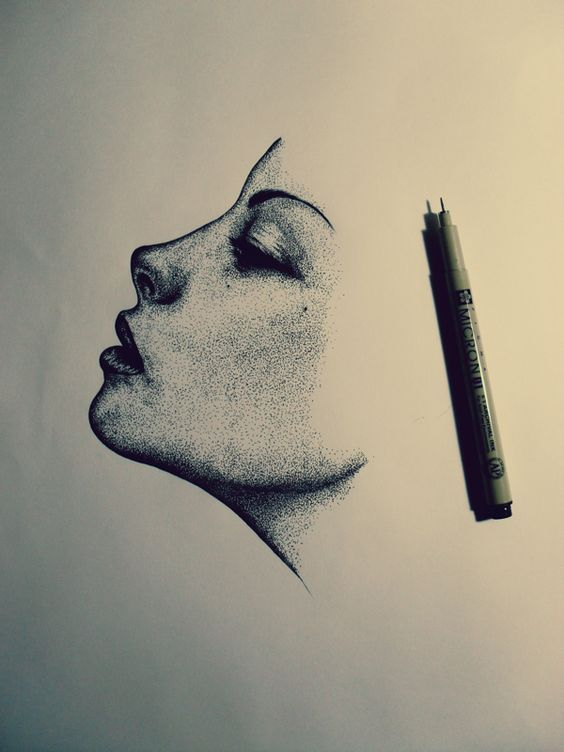 Wind by Roberto Canu, via Behance  +Use to learn how to draw faces from the side.: