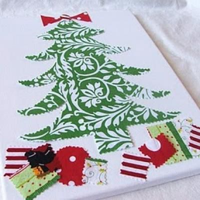 10+ images about Christmas canvas ideas on Pinterest ...