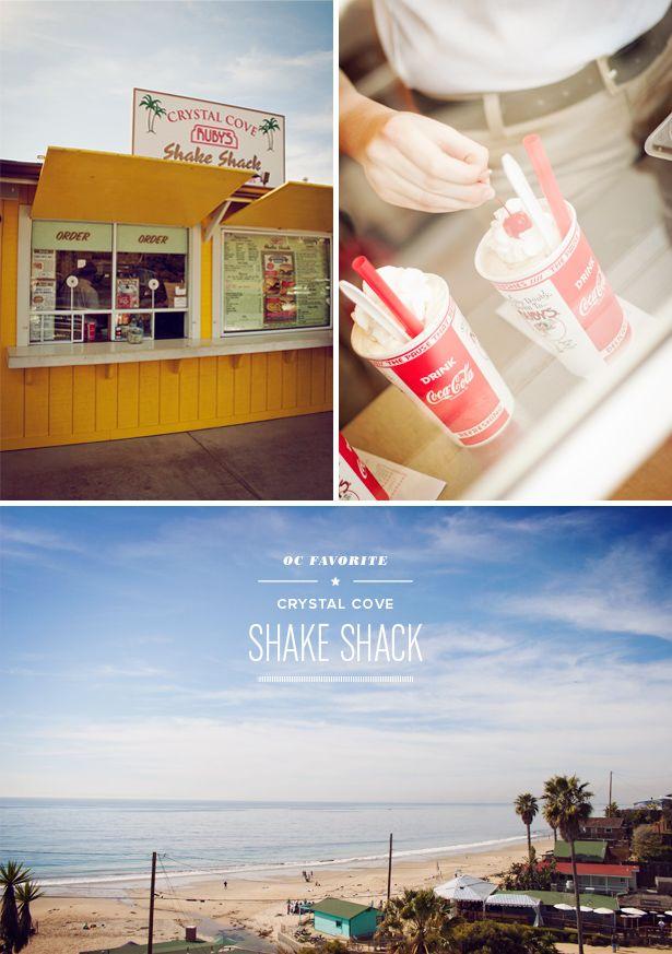 ruby's shake shack : crystal cove, newport beach / coast, orange county, california