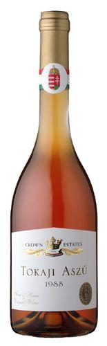 Tokaji Aszu is a world-famous sweet, topaz-colored wine from Hungarian wine region Tokaj.