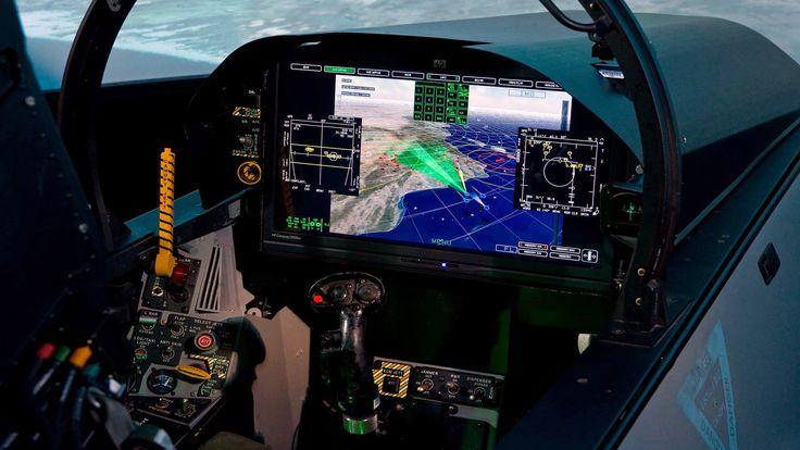 F-18 Advance Super Hornet (cockpit)