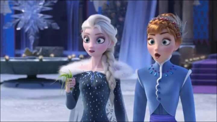 """Sneak peek of """"Olaf's Frozen Adventure""""!"""