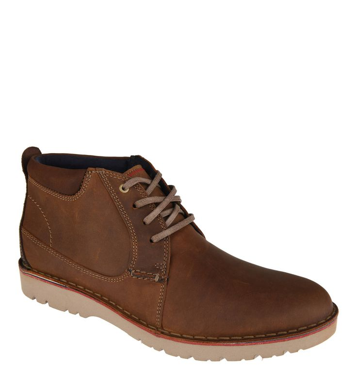 """Boots """"Vargo Mid"""", leather, smooth leather"""