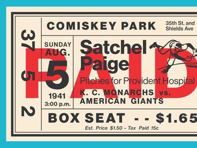 Fontacular Baseball Ticket