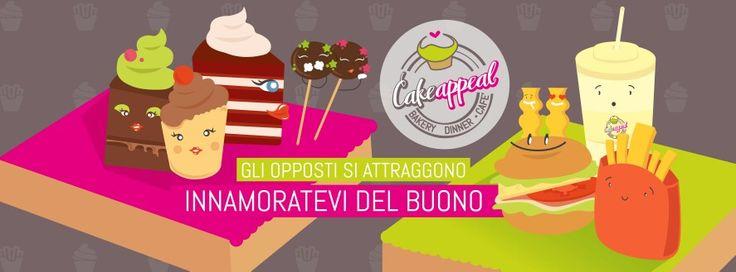#Dolce e #Salato : da #CakeAppeal gli opposti si attraggono. Innamoratevi del buono!