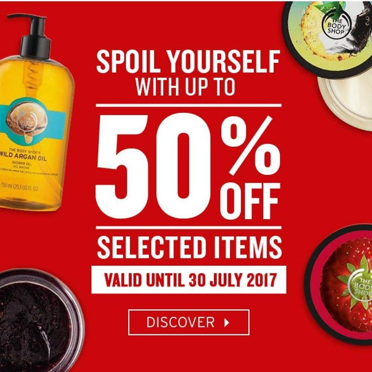 Huge SALE at @thebodyshopsouthafrica  Get scrumptious body butters shower gels body scrubs and more in store before the end of July and save! #Sale #TheBodyShopSA #EthicalBeauty #Bodycare #Vegetarian #Vegan