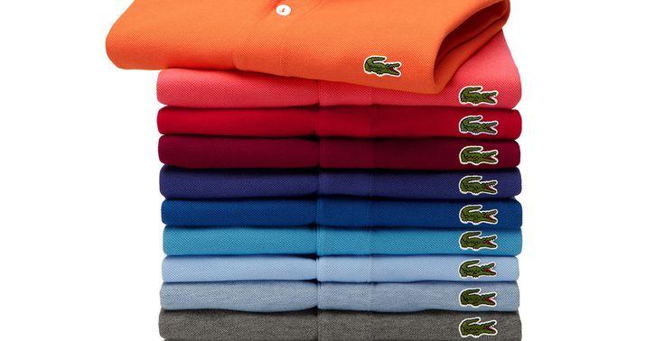 Le crocodile Lacoste et le Swoosh de Nike ont-ils du souci à se faire ?   Les vêtements sans logo, une tendance à suivre  #lacoste #polo #logo