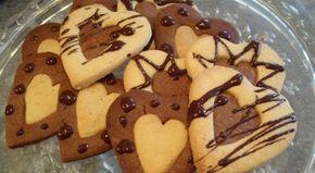 Υπέροχα δίχρωμα κουλουράκια βανίλιας-σοκολάτας