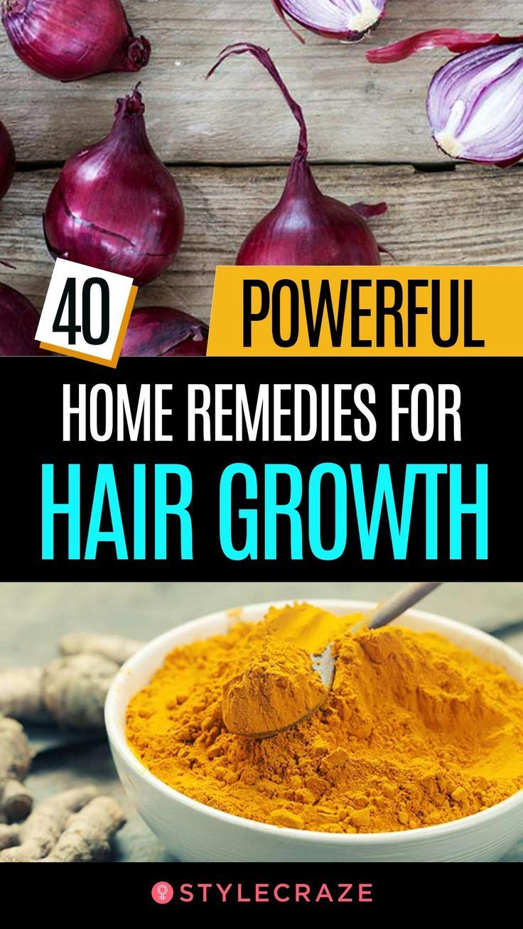 40 Highly effective House Treatments For Hair Development That Work Wonders
