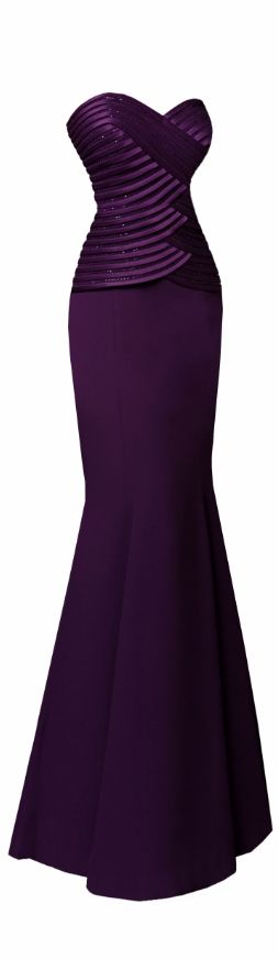 Purple Elegance #Daymor Couture ♥7003 Visit us at www.daymor.com & like us on https://www.facebook.com/DaymorCouture