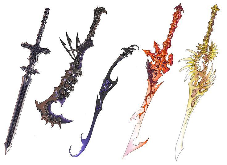Anima Beyond Fantasy | ... -Sama » Photos » Anima Beyond Fantasy » sword_designs_by_Wen_M
