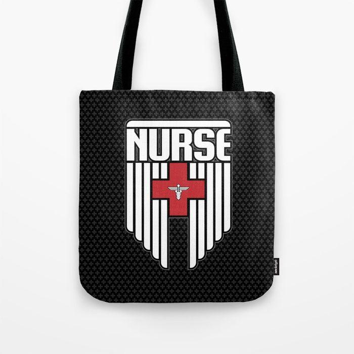 Nurse Shield Tote Bag