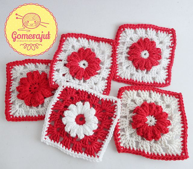 97 best Crochet > Daisy images on Pinterest | Punto de crochet ...