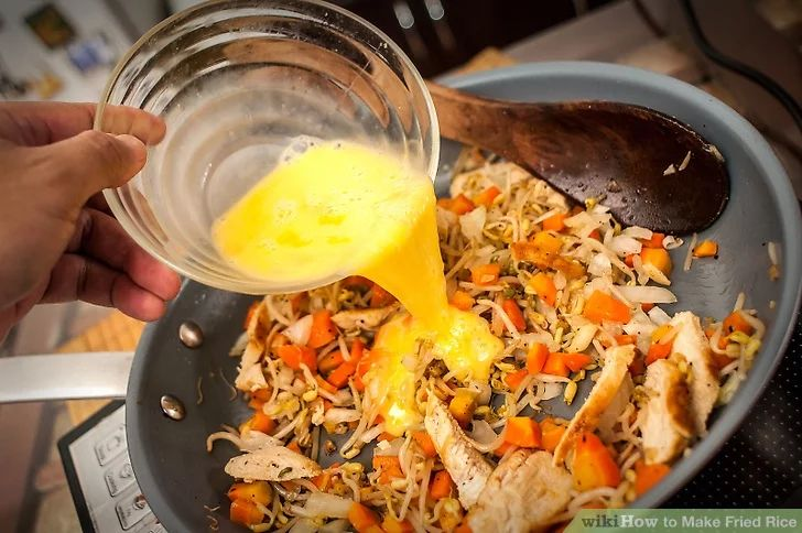 Make fried rice recipe rice tasty dishes and woks how to make fried rice ccuart Image collections