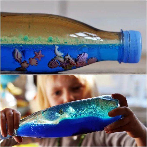 Сенсорные бутылки - развлечение для самых маленьких!